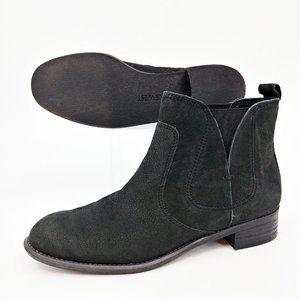 Nine West Jupiter Black Chelsea Ankle Boots